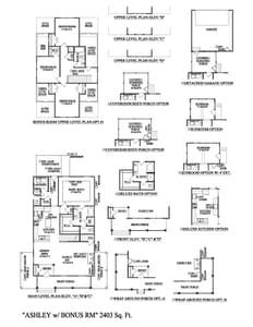 Charleston New Home Ashley  Floorplan