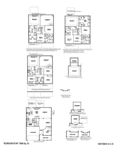 Taylors New Home Kerrington Floorplan