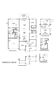 Moncks Corner New Home Lakeside - Edisto II Floorplan