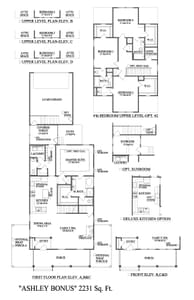 Thompson Station New Home Ashley Extended Floorplan