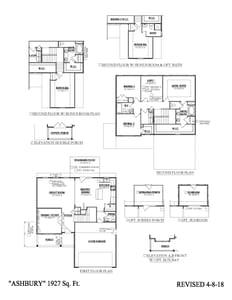 Moncks Corner New Home Ashbury Floorplan
