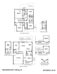 Murfreesboro New Home Mannington Floorplan