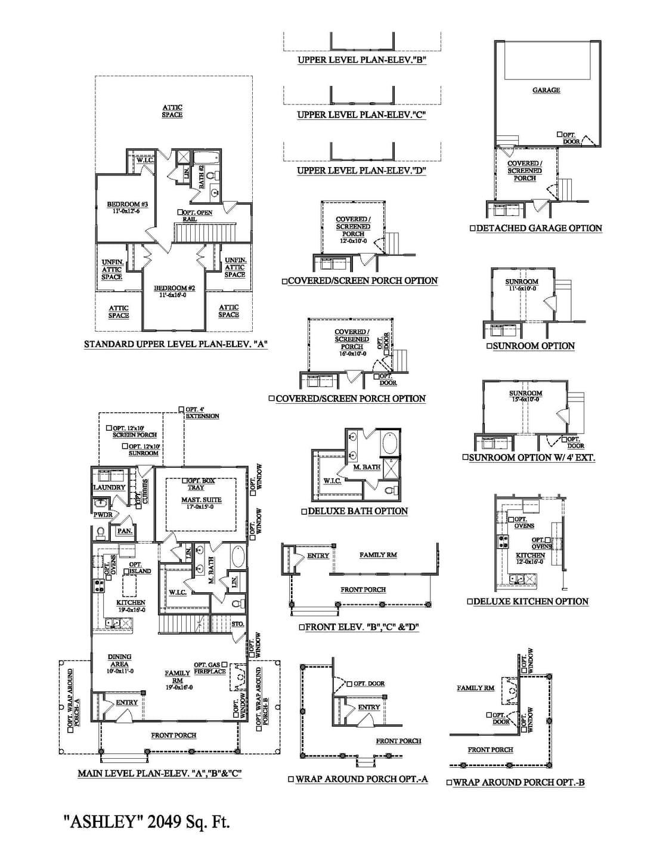 Ashley New Home Floorplan