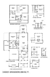 Thompson's Station New Home Cassidy  Floorplan