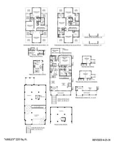 Charleston New Home Ashley Bonus Drive-Under Floorplan