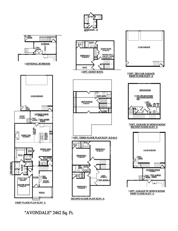 Thompson Station New Home Avondale  Floorplan