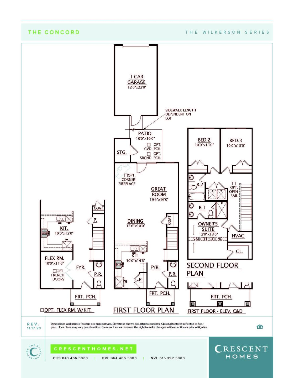 Spring Hill New Home Concord Floorplan