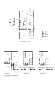 Fountain Inn New Home Beaufain Floorplan