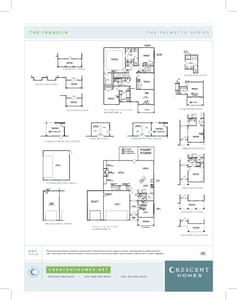 Moncks Corner New Home Franklin Floorplan