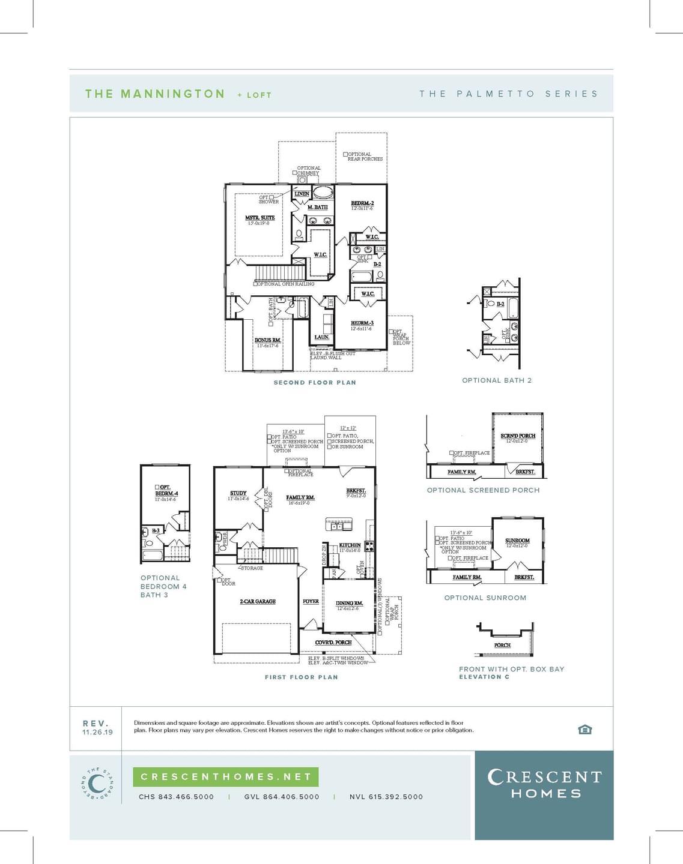 Duncan New Home Mannington Floorplan