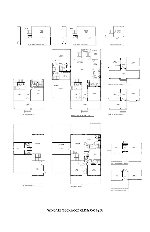 Wingate New Home Floorplan