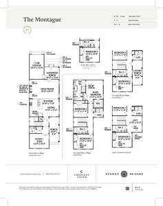 Charleston New Home Montague Floorplan