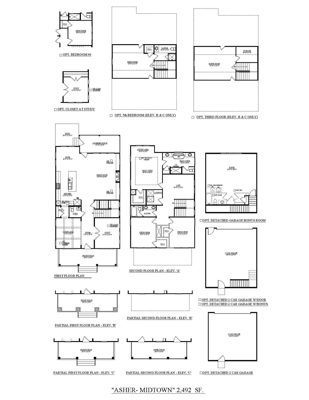 Asher New Home Floorplan