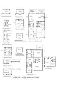 Simpsonville New Home Carlyle Floorplan