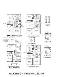 Spring Hill New Home Virginia Floorplan