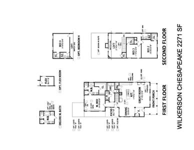 Spring Hill New Home Chesapeake Floorplan