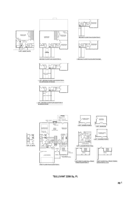 Sullivan - Nashville New Home Floorplan
