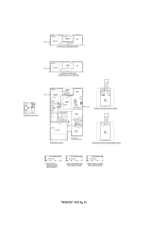 Murfreesboro New Home Westin w/ Bonus Floorplan