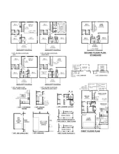 Moncks Corner New Home Cassidy Floorplan