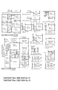 Moncks Corner New Home Lincoln Floorplan