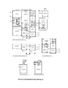 Franklin New Home Wyatt Floorplan