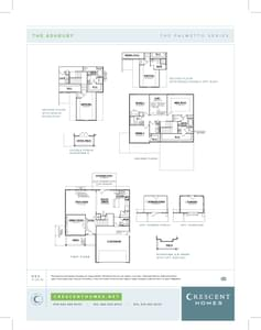 Duncan New Home Ashbury Floorplan