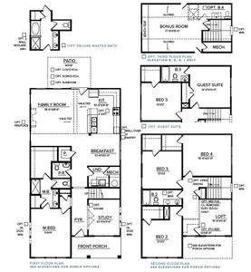 Spring Hill New Home Avondale Floorplan