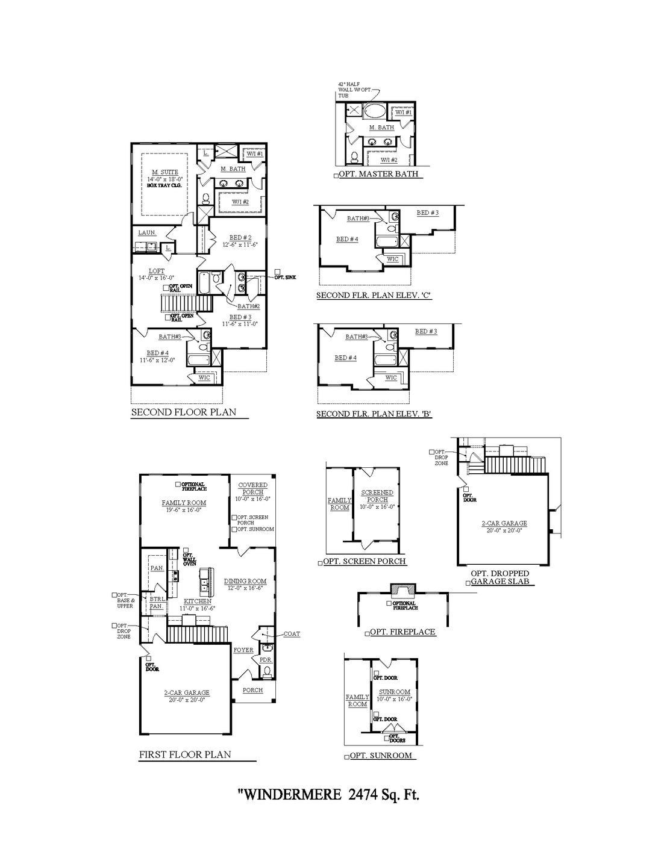Windermere New Home Floorplan