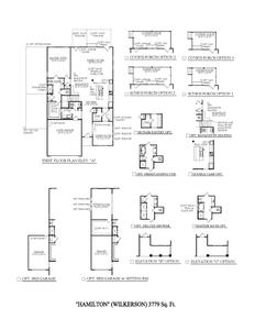 Spring Hill New Home Hamilton II for Wilkerson Place Floorplan