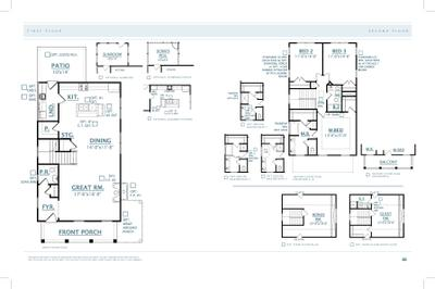 John's Island New Home Cooper Floorplan