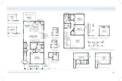 John's Island New Home Pembrooke Floorplan
