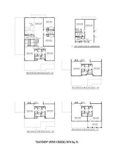 Arrington New Home Hayden Floorplan