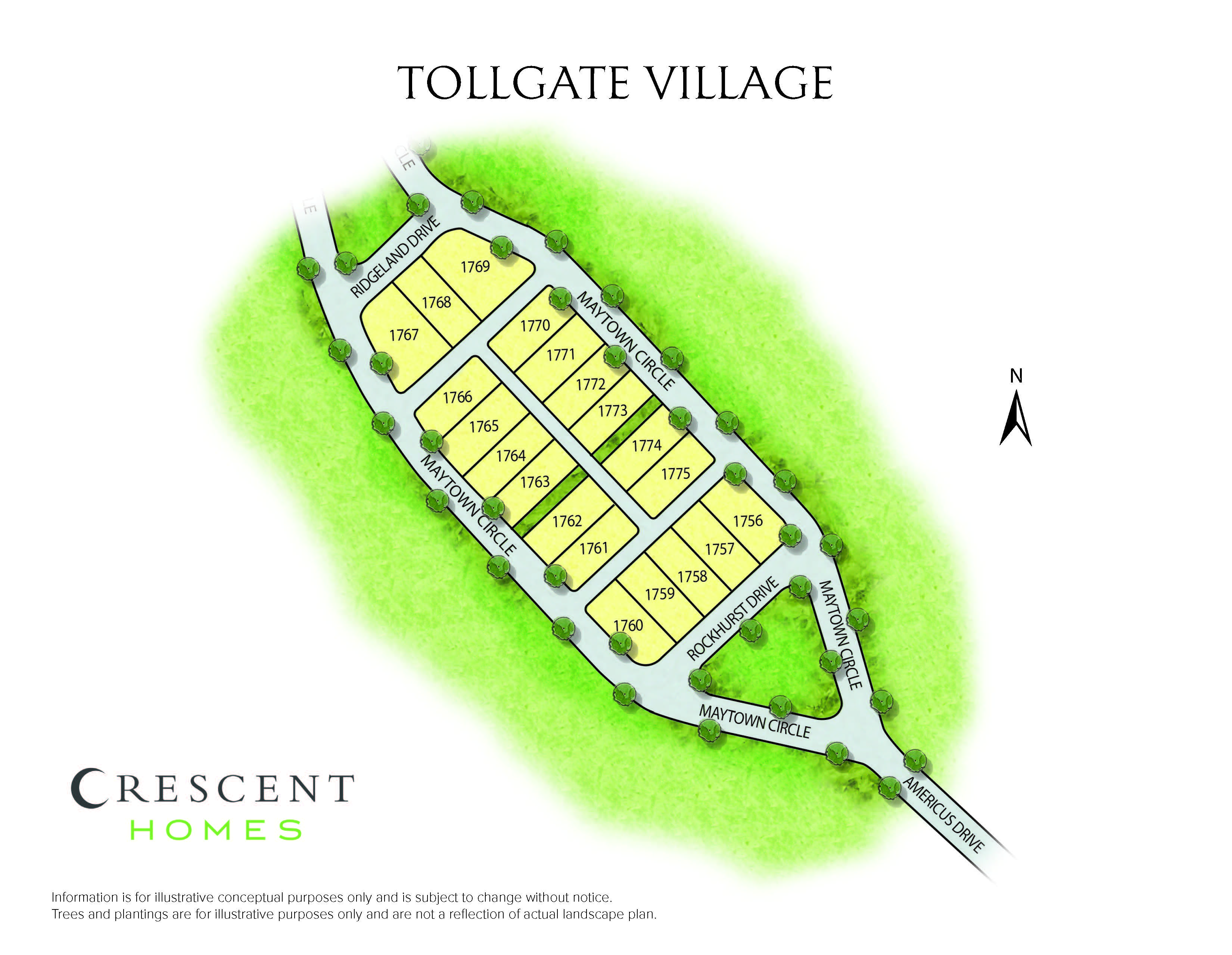 Thompson Station, TN Tollgate Village New Homes