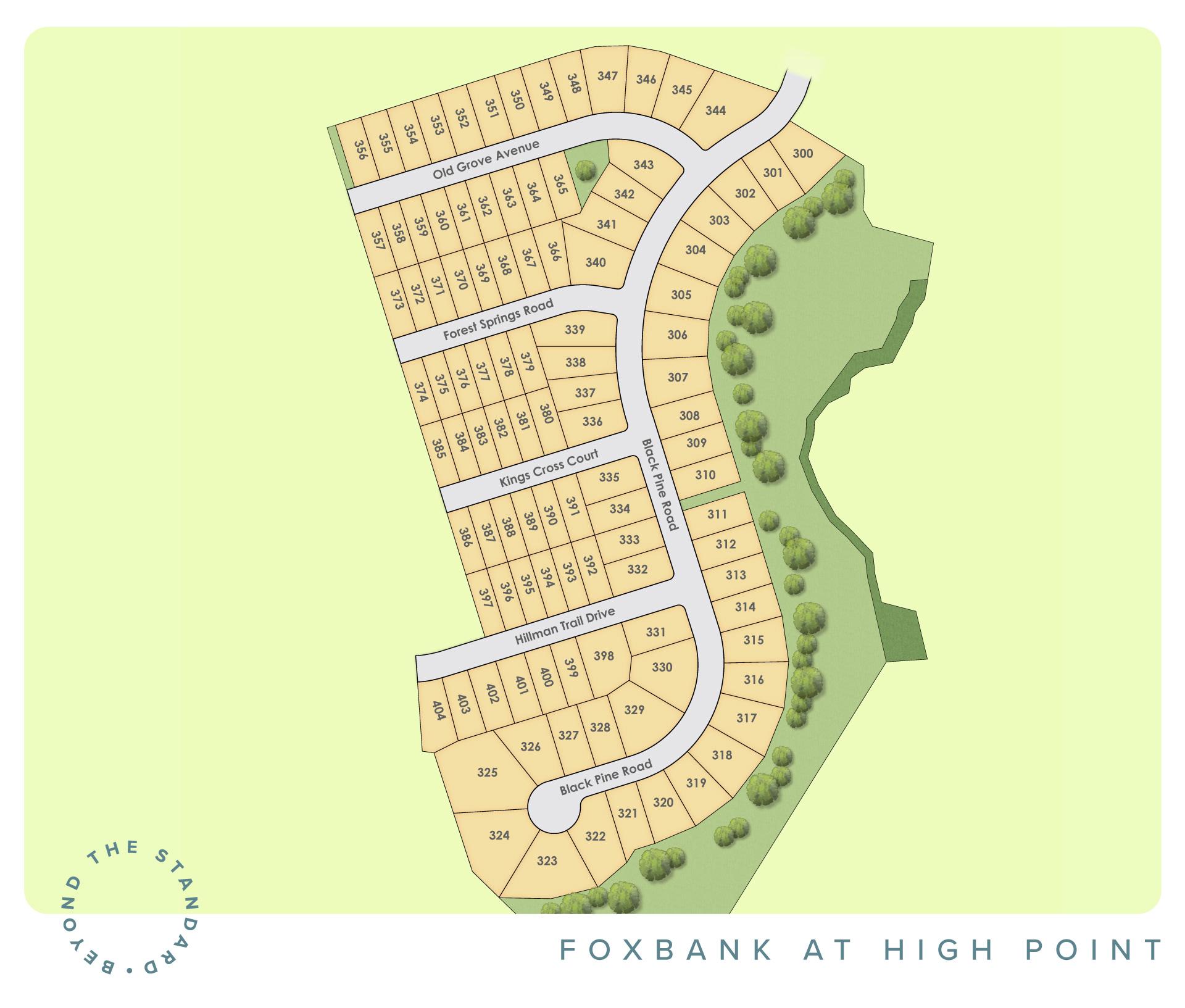 Moncks Corner, SC High Point at Foxbank New Homes