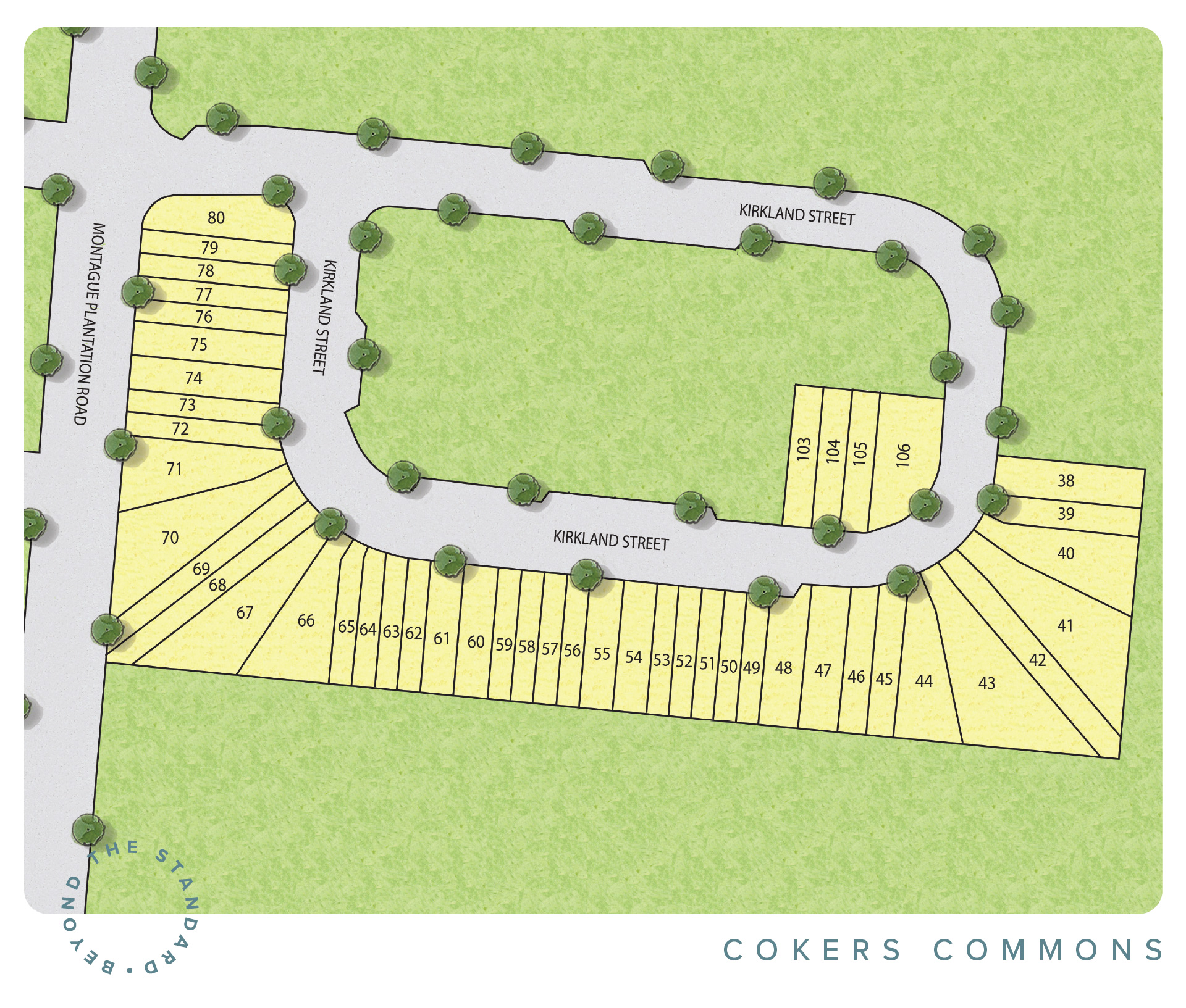 Goose Creek, SC Coker's Commons New Homes