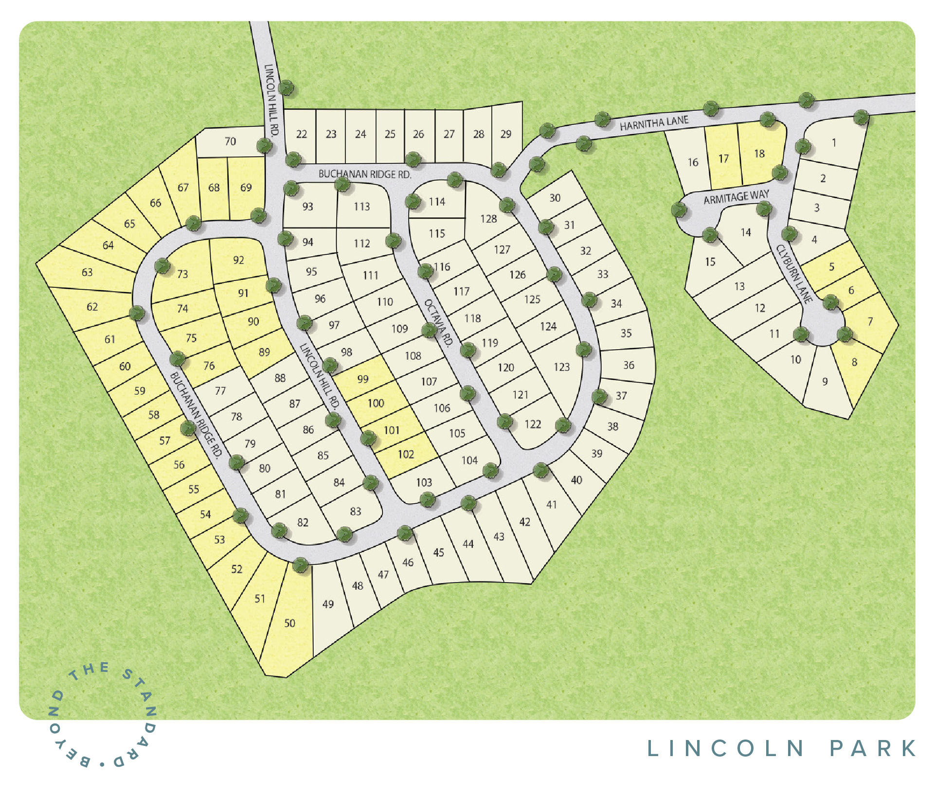 Taylors, SC Lincoln Park New Homes