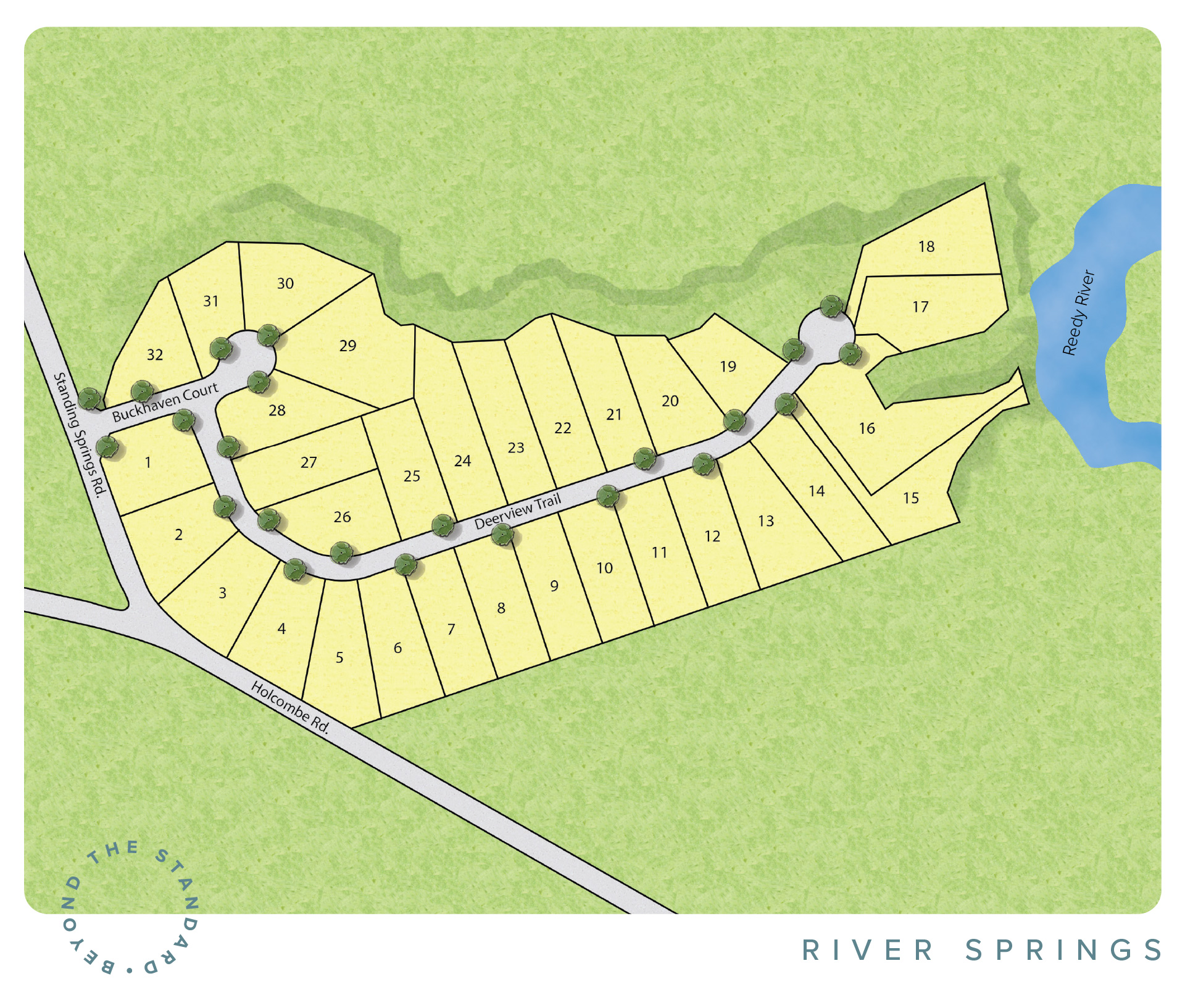 Simpsonville, SC River Springs New Homes
