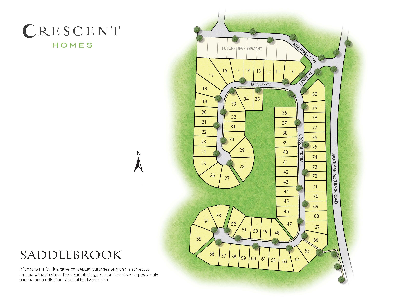 Greer, SC Saddlebrook Farm New Homes