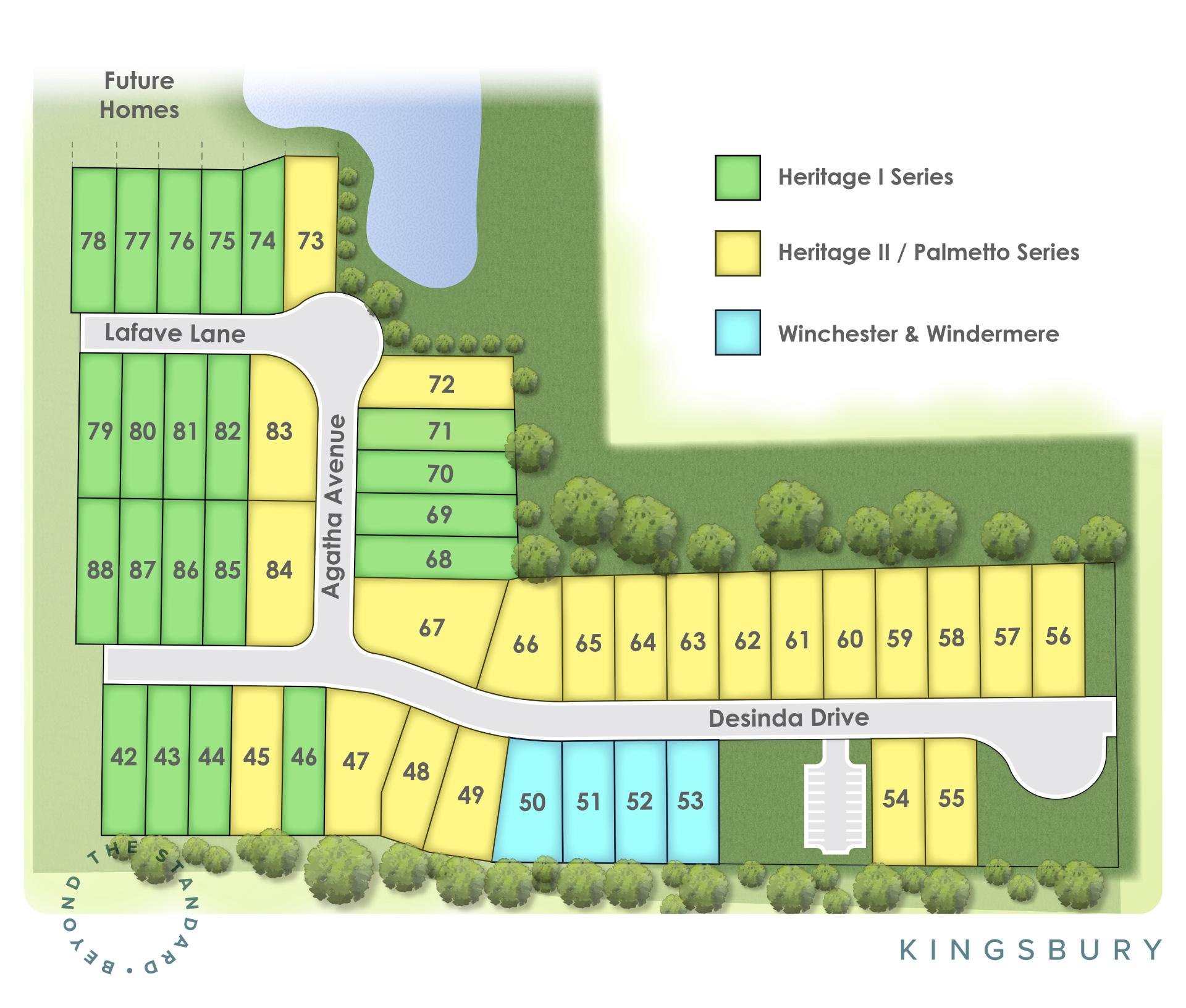 Murfreesboro, TN Kingsbury New Homes