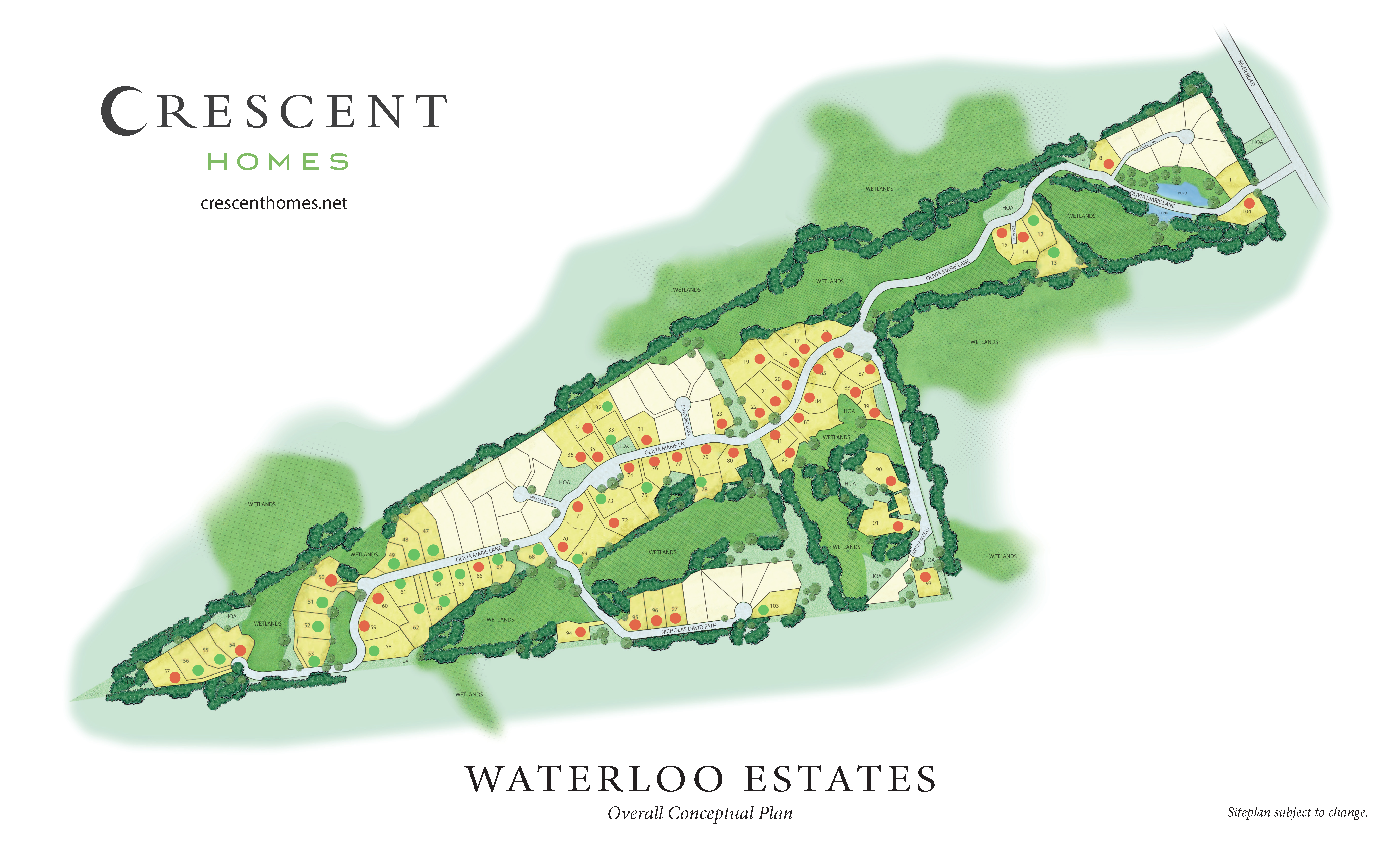 Johns Island, SC Waterloo Estates New Homes