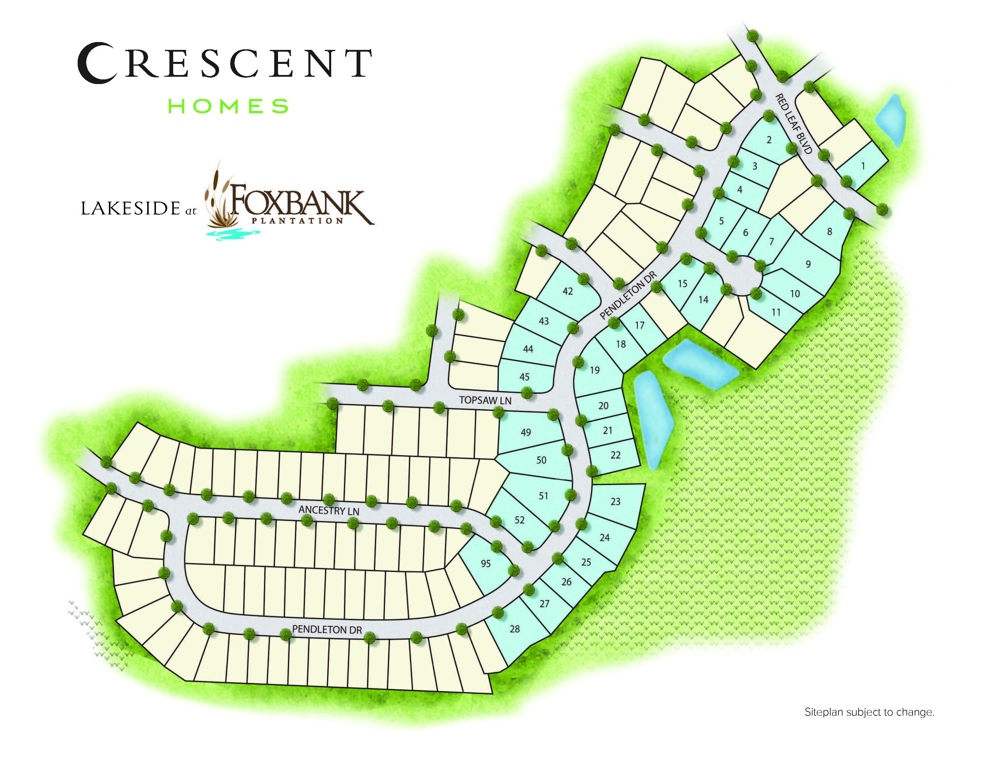 Moncks Corner, SC Lakeside at Foxbank Plantation New Homes