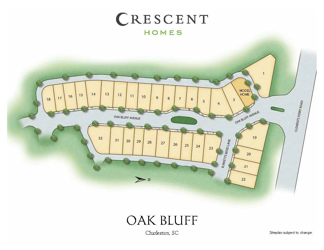 Charleston, SC Oak Bluff New Homes