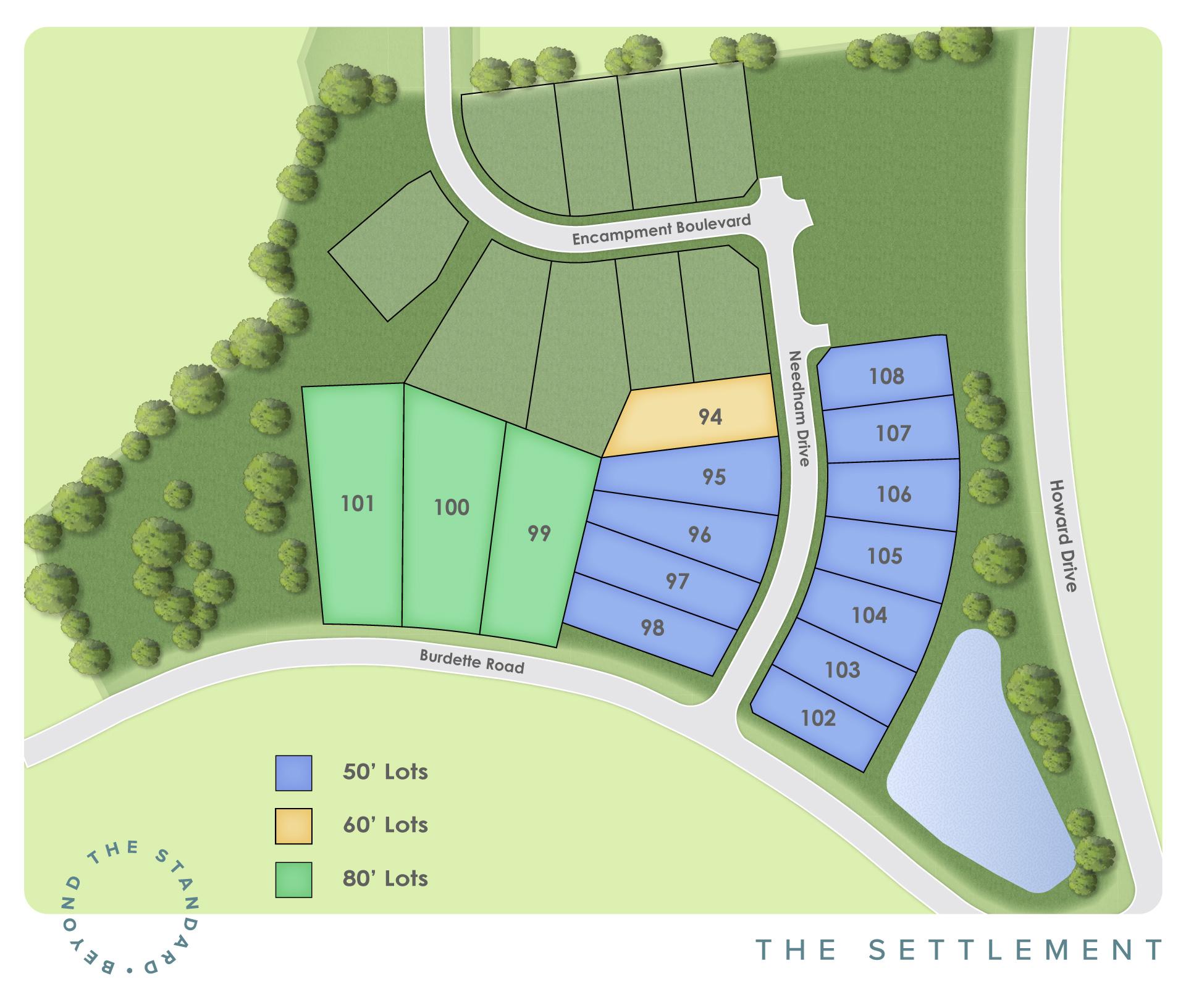 Simpsonville, SC The Settlement New Homes