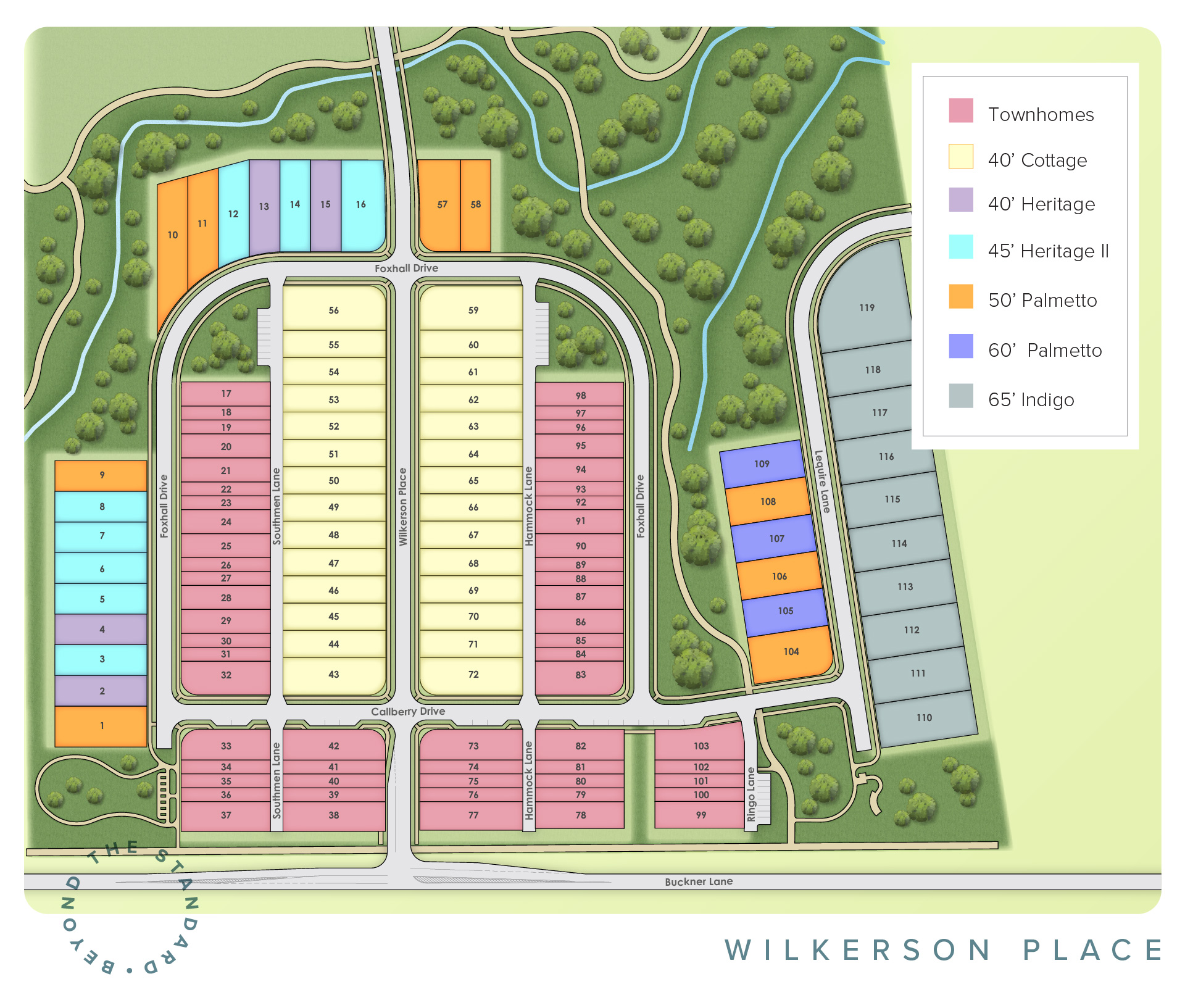 Spring Hill, TN Wilkerson Place New Homes