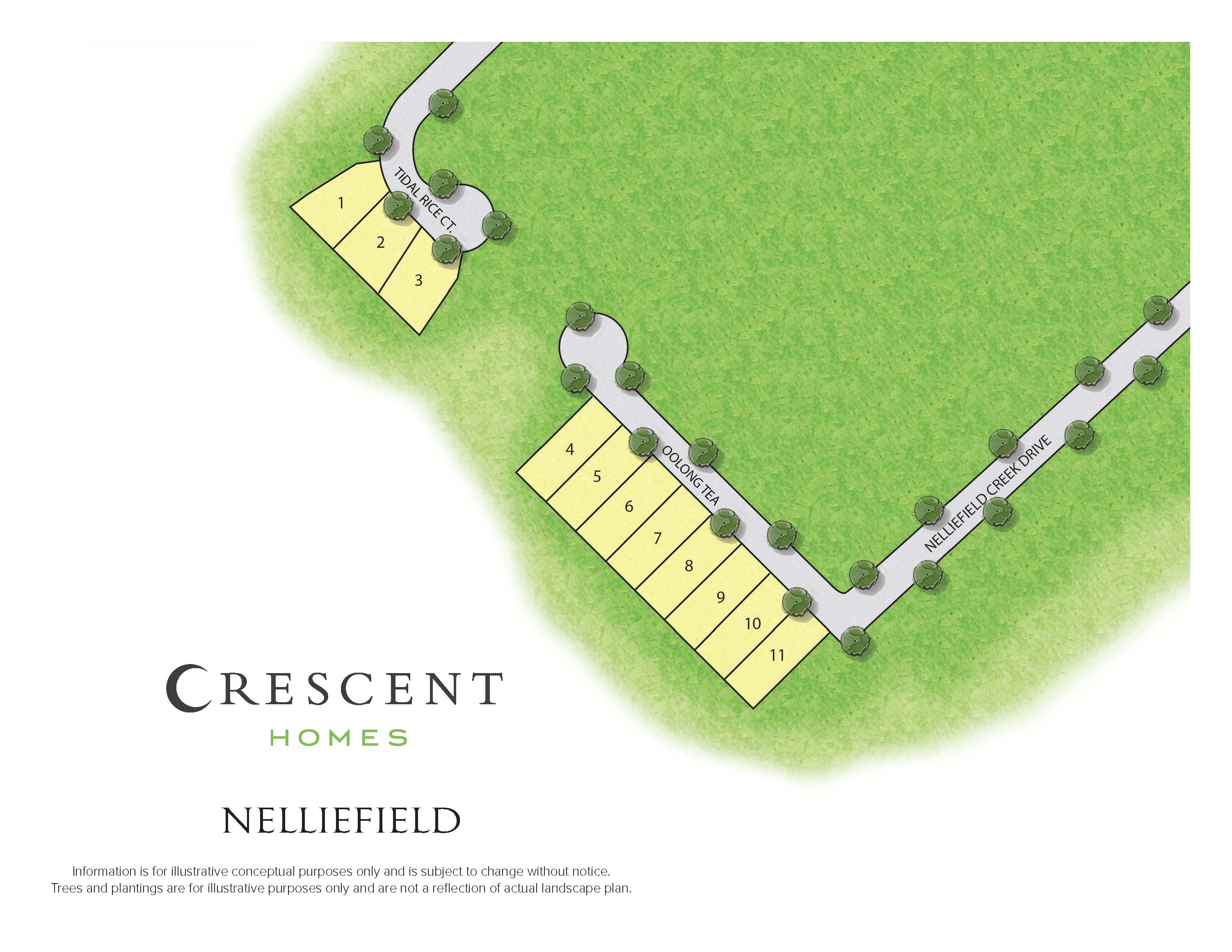 Charleston, SC Nelliefield Plantation  New Homes