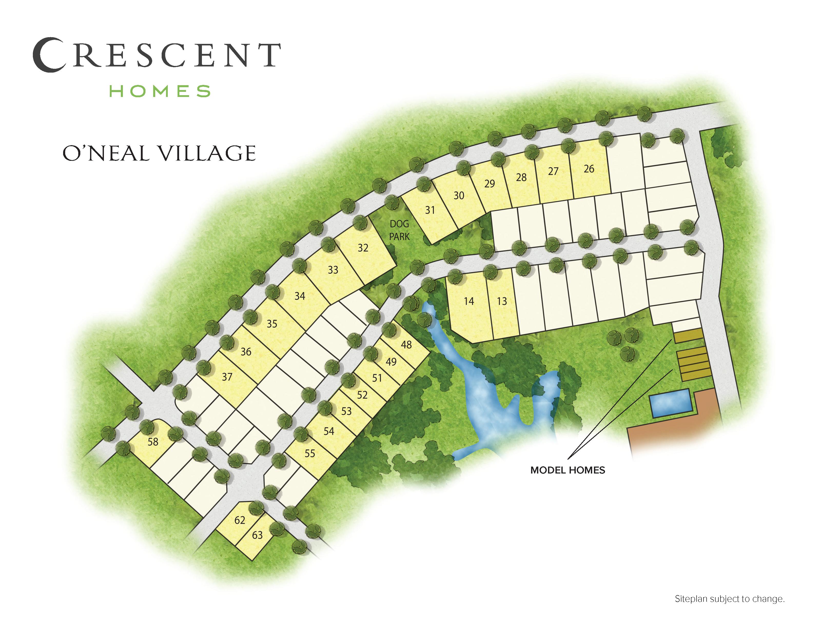 Greer, SC O'Neal Village New Homes