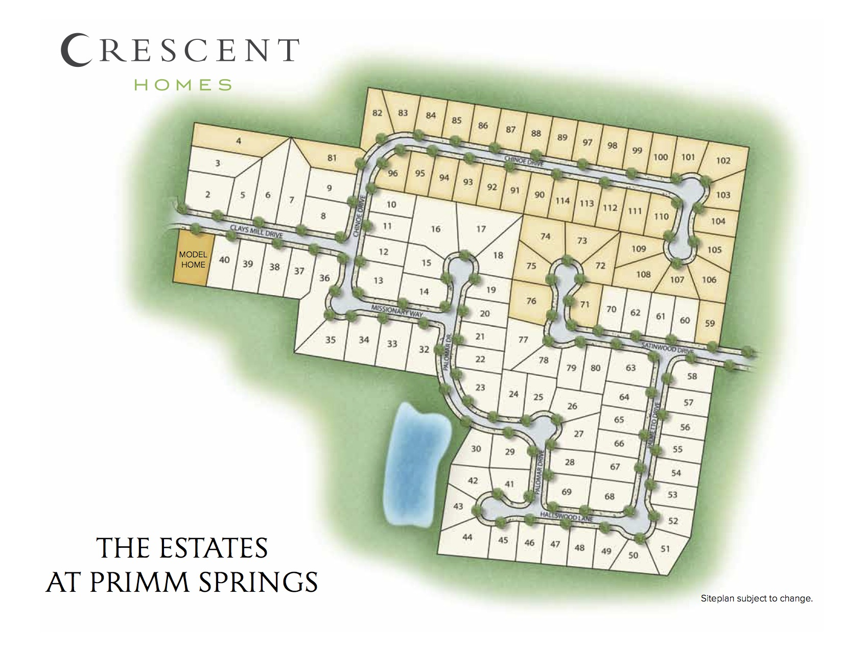 Murfreesboro, TN Estates at Primm Springs New Homes