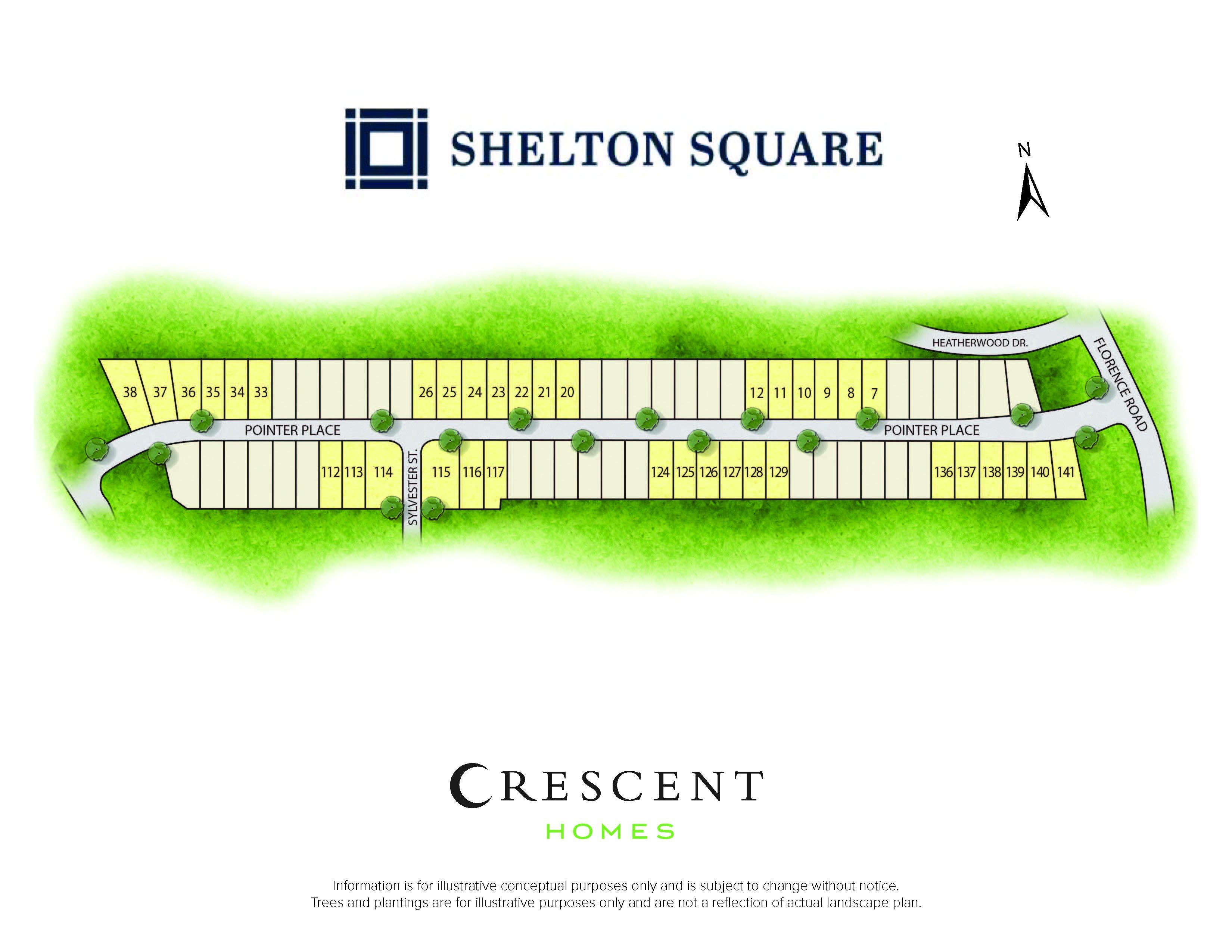 Murfreesboro, TN Shelton Square New Homes