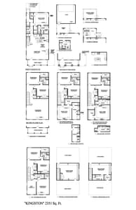 Thompson Station New Home Kingston Floorplan