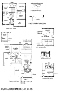 Thompson's Station New Home Lincoln Floorplan